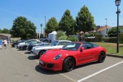 Expositions de quelques voitures puissantes