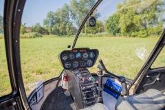 Hélicoptère pour les baptêmes de l'air